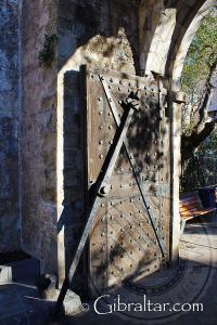 Original Southport Gate in Gibraltar