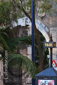 New Southport Gate and taxi sign