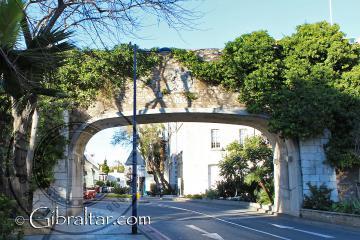 Puerta del Referéndum en Gibraltar