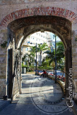 La puerta original de Southport de Gibraltar