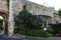 Fuente en Southport Gates en Gibraltar