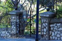 Trafalgar Cemetery Gate