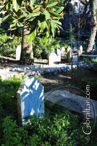 Trafalgar Cemetery in Gibraltar