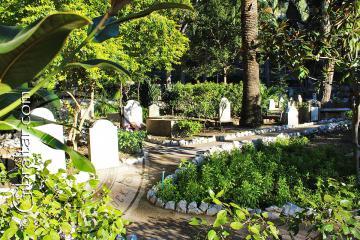 Jardines del Cementerio de Trafalgar