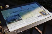Puesto de información sobre Nelson, Cementerio de Trafalgar