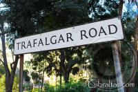 Señal de Trafalgar Road