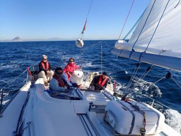 Trafalgar Sailing in Gibraltar