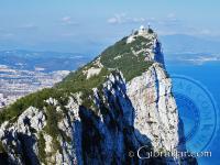 Upper Rock Nature Reserve looking toward Spain