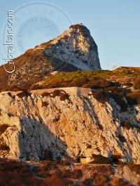 The upper rock nature reserve from Europa point