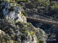 Primer plano del Puente de Windsor en Gibraltar