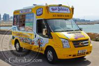 Johnny ice cream truck at Western Beach