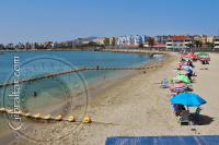 Western beach in Gibraltar
