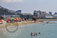 Western Beach from Spanish border
