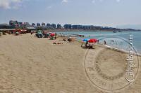 Sandy Western Beach in Gibraltar