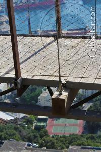 Base of the Windsor Suspension Bridge
