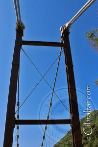 Top Structure Windsor Suspension Bridge