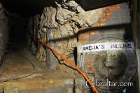 'Amelia's Incline' at the World War II Tunnels in Gibraltar