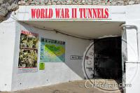 Hays Level entrance to the World War II Tunnels in Gibraltar
