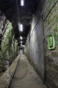 Heading toward 'Clapham Junction' inside the World War 2 Tunnels