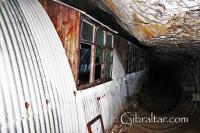Nissen Huts inside the World War II Tunnels