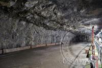 Empty Romney Hut Chamber World War II Tunnels