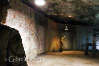 Exhibición de la gestión de almacenaje en los Túneles de la II Guerra Mundial