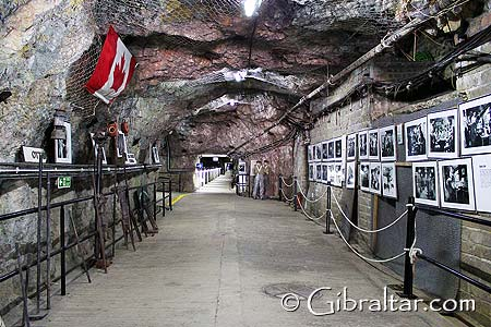 The World War II Tunnels in Gibraltar, since May 2005, have been opened to the general public as a tourist attraction, allowing visitors to witness and appreciate the incredible tactics employed and feat of the British military forces during such a dark and difficult stage of our history.