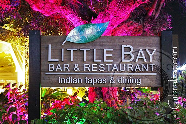 Little Bay Indian Tapas Bar & Restaurant in Gibraltar