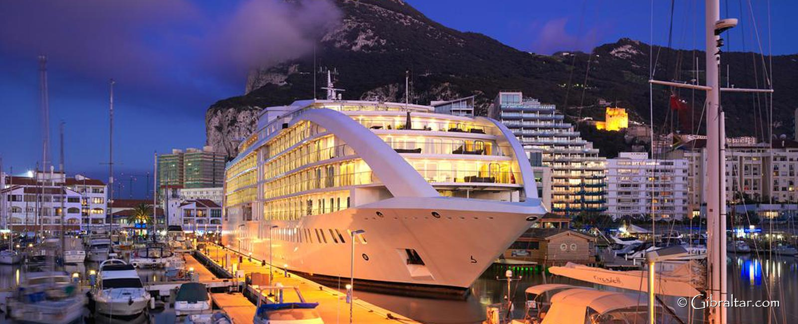 A stay aboard Sunborn Hotel in Gibraltar presents visitors with the opportunity to enjoy a unique experience: the privacy and exclusivity of an ocean-going superyacht combined with the quality and comfort of a five-star hotel – it's a persuasive proposition.
